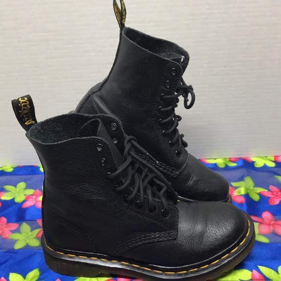 353d342aec3 Dr Martens women's pascal leather combat boots